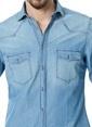 Kip Jean Gömlek Mavi